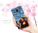 [J4 軟殼] 三星 Sumsung Galaxy j4 J400G J400DS 手機殼 外殼 保護套 梵谷星空