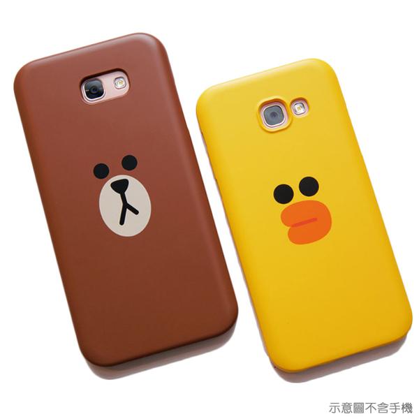 LINE原廠-Samsung A5(2017)  莎莉 / 熊大矽膠保護殼
