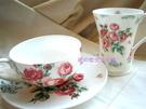 *禎的家* 英國 Laura Ashley 玫瑰花茶杯盤組~輕鬆愜意下午茶