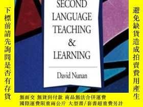 二手書博民逛書店Second罕見Language Teaching & LearningY364682 David Nunan