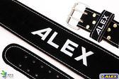 【ALEX】牛皮腰帶(M)A-1002