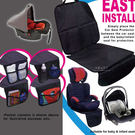 汽車安全座椅 兒童汽車座椅止滑保護墊 座椅保護 汽車座椅配件 兒童汽座