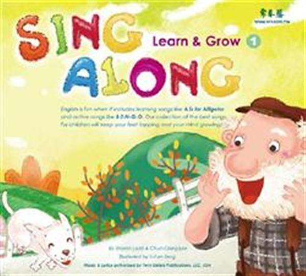 (二手書)Sing Along(1):Learn & Grow (1CD)