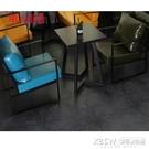 沙發卡座組合奶茶店桌椅組合咖啡廳清酒吧雙人休閒卡座CY『新佰數位屋』