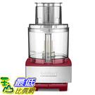 [美國直購] Cuisinart DFP-14NR Custom 14 Food Processor, Stainless Steel/Red
