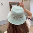 帽子女夏天網紅韓版百搭日系漁夫帽甜美可愛時尚貓咪遮陽防曬軟妹 夏季新品