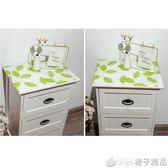 PVC軟玻璃床頭櫃墊 防水防污水晶板 床頭櫃桌布台布 免洗塑料桌墊   橙子精品