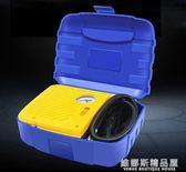 車載充氣泵單缸盒裝12V便攜輪胎打氣泵定制輪胎充氣泵應急充氣泵 維娜斯精品屋