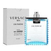 Versace Eau Fraiche 凡賽斯雲淡風輕男性淡香水 tester 100ml【5295 我愛購物】