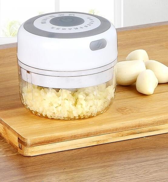 搗蒜器打蒜器電動小型蒜泥器壓蒜泥神器家用迷你無線拉蒜器攪蒜器