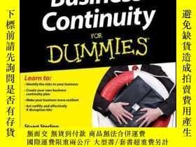 二手書博民逛書店Business罕見Continuity For DummiesY410016 The Cabinet Off