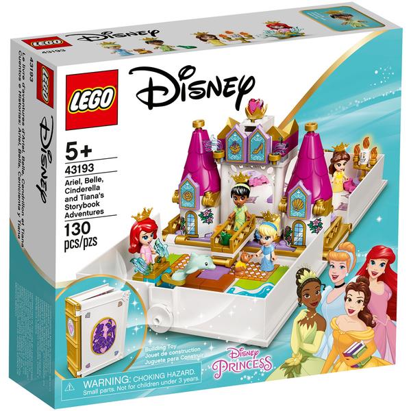 """樂高積木 LEGO《 LT43193》Disney 迪士尼公主系列 - Ariel,Belle,Cinderella,Tiana""""s Storybook Adventure"""
