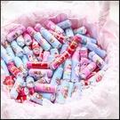 奇奇妮妮喜糖 迷你曼陀珠(公版貼紙100條入) 送客喜糖 迎賓擺桌 創意糖果 生日分享 來店禮