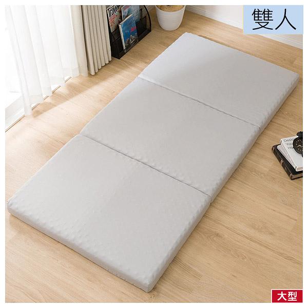◆日式床墊 睡墊 折疊床墊 極厚舒柔2 雙人 NITORI宜得利家居
