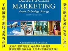 二手書博民逛書店Services罕見Marketing: People Technology Strategy (7th Edit