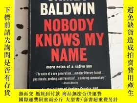 二手書博民逛書店james罕見baldwin nobody knows my n