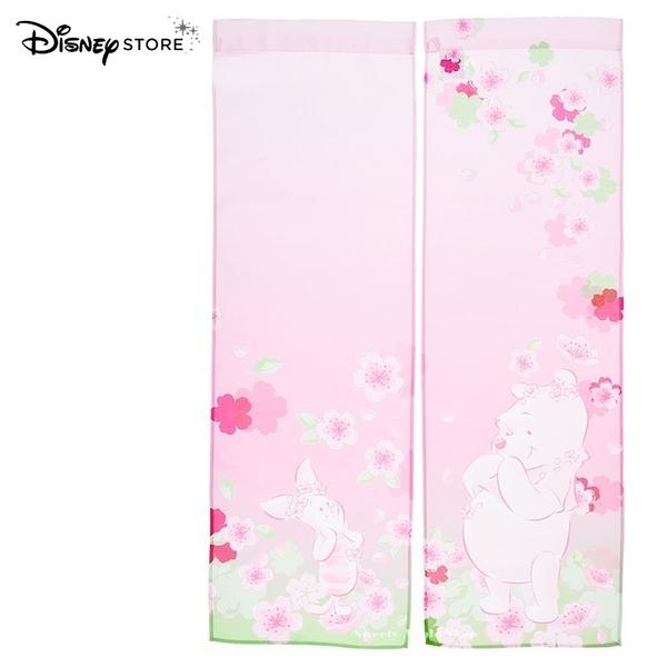 日本限定 迪士尼商店 Disney Store 小熊維尼 櫻花維尼 櫻花版 門簾 / 布簾