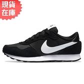 【現貨】Nike MD Valiant GS 女鞋 大童 慢跑 休閒 麂皮 黑【運動世界】CN8558-002