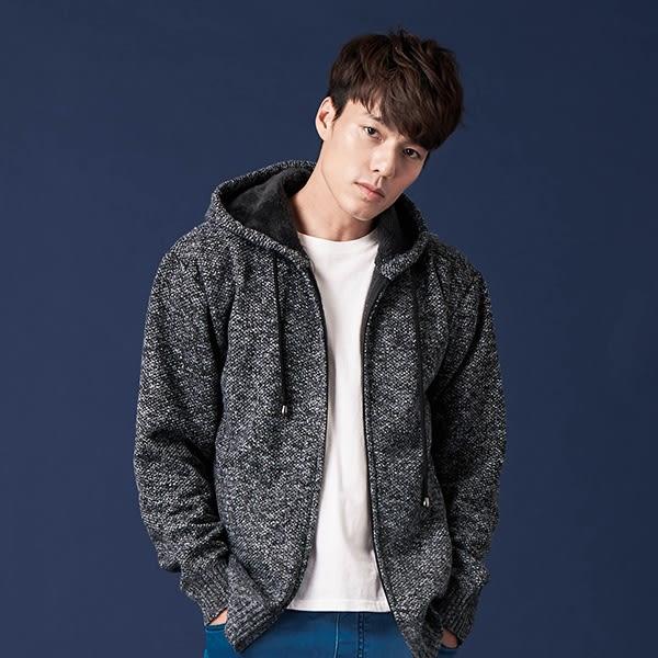 針織毛料外套【CG41-6602-B215】(ROVOLETA)