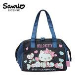 【日本正版】凱蒂貓 輕便 保冷袋 手提袋 便當袋 保冷提袋 保溫袋 Hello Kitty 三麗鷗 Sanrio - 110973