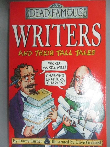 【書寶二手書T2/原文書_JML】Dead Famous: Writers and Their Tall Tales_T