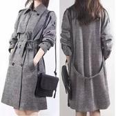 現貨 2XL.XL/M 韓國 韓系中長款雙排扣大碼毛呢大衣NC30-A.3307胖胖唯衣