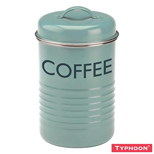 【TYPHOON】Summer House儲存咖啡罐1.25L(淺藍)