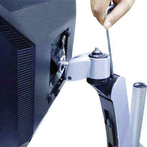 Xergo 鑽石系列 雙延伸臂螢幕支撐架 穿夾兩用 EM33136