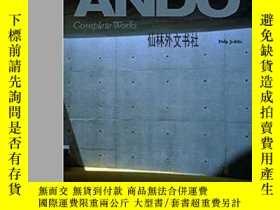 二手書博民逛書店【罕見】2004年出版 Tadao AndoY27248 Philip Jodidio Taschen 出版