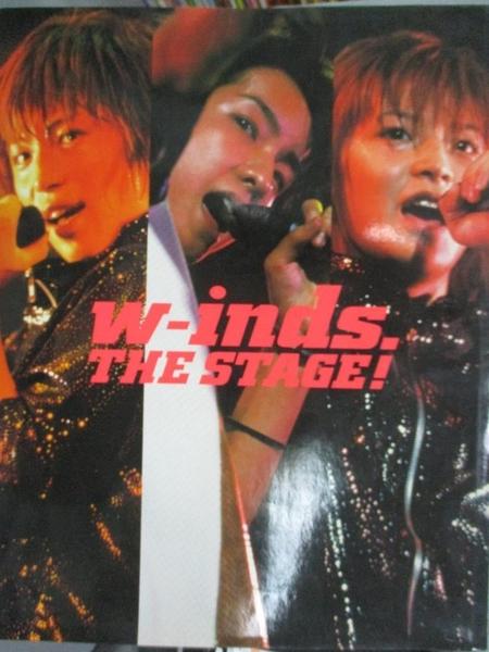 【書寶二手書T3/音樂_YEM】W-INDS. THE STAGE