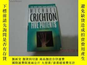 二手書博民逛書店FIVE罕見PATIENTS11905 Michael Cric