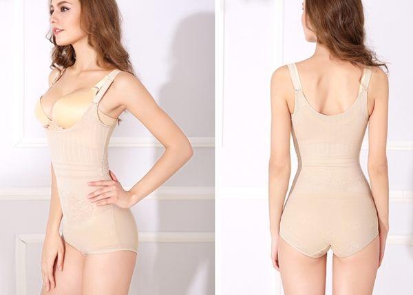 薄款加強型產後束身衣連體四季薄款重壓型收腹衣-ziy0122