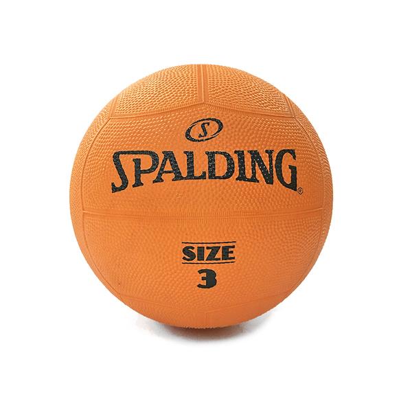 Spalding Team #3 [SPBD3001] 躲避球 3號 橡膠 橘黑