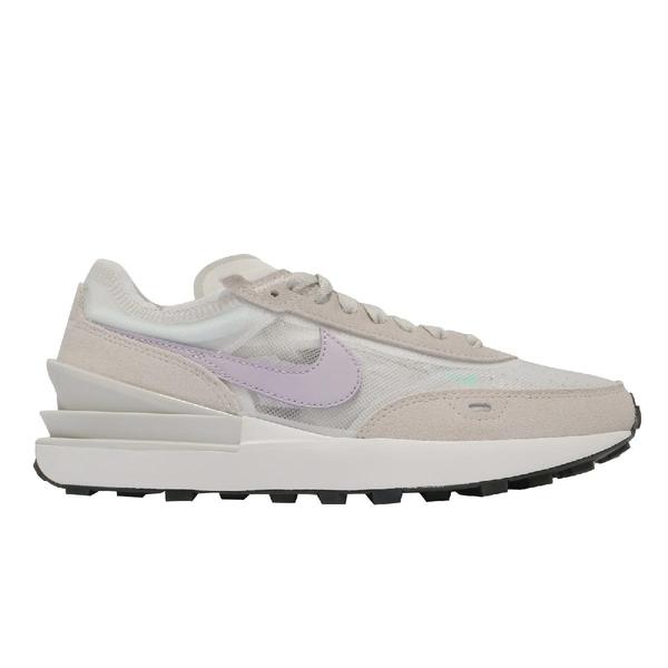 Nike 休閒鞋 Wmns Waffle One 灰 紫 麂皮 小Sacai 平民版 女鞋 百搭款【ACS】 DC2533-101