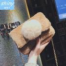 【P167】shiny藍格子-百搭可愛....