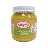 BABYBIO 有機甜玉米泥 130g (6個月以上適用)