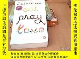 二手書博民逛書店ELIZABETH罕見GILBERT EAT PRAY LOVE