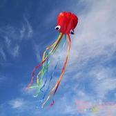 軟體章魚風箏八爪魚大型微風易飛初學者兒童【聚可愛】
