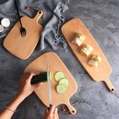 YAHOO618◮切菜板木粘板蛋糕托盤 披薩面包板 韓趣優品☌