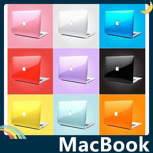 MacBook Air/Pro/Retina 繽紛磨砂保護殼 二合一套裝組含同色鍵盤膜 簡約商務 保護套 平板套 支援全機型