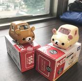 TOMICA 多美小汽車 Dreams系列 懶懶熊 Rilakkuma 拉拉熊 棕色/白色 日本進口