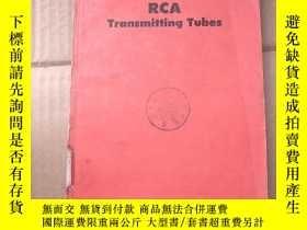 二手書博民逛書店RCA罕見transmitting tubes(P884)Y173412