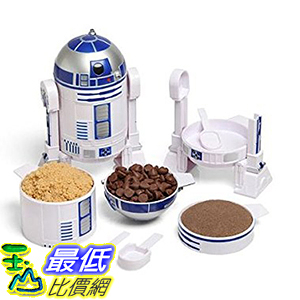[美國直購] Star Wars R2-D2 Measuring Cup Set 星際大戰 機器人 R2D2 造型量杯