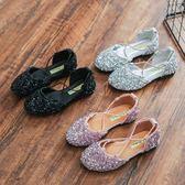 兒童涼鞋2018夏季新款女童綁帶式包頭公主韓版 JA1311『美鞋公社』