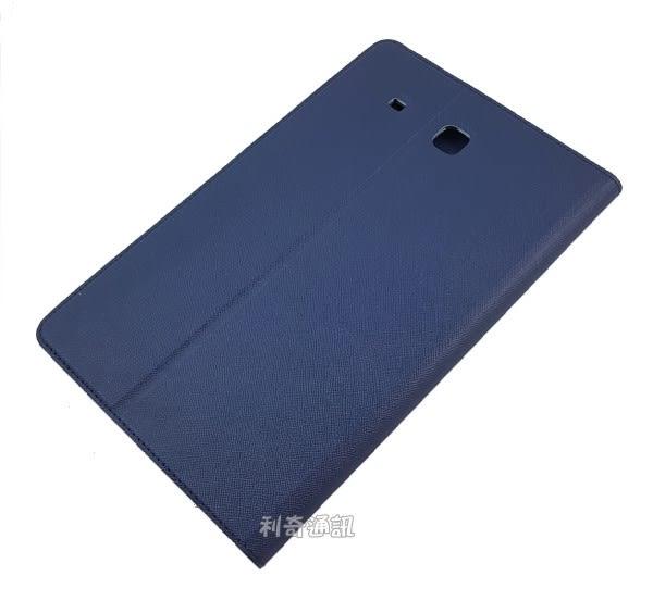 【Xmart】十字紋側掀皮套 Samsung Galaxy Tab E 9.6 T560 平板