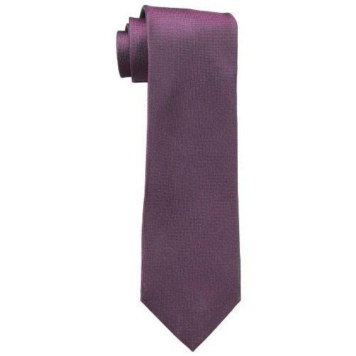 CK 男時尚Silver Spun 梅色真絲領帶
