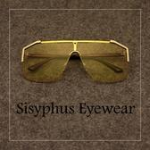 墨鏡大框潮嘻哈說唱前衛ins個性超酷墨鏡太陽墨鏡防風歐美眼睛男女士【快速出貨】