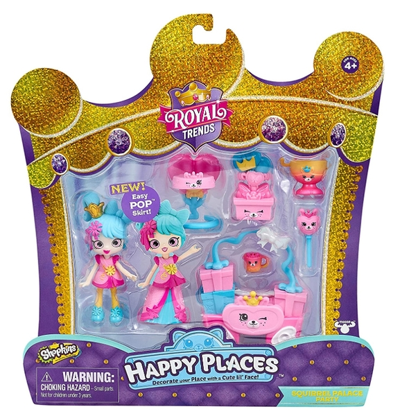 HAPPY PLACES 皇宮時尚派對 Squirrel Palace Party 松鼠皇宮派對