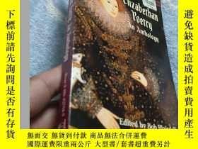 二手書博民逛書店【英文原版書】Elizabethan罕見Poetry:An An