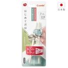 康貝Combi 三階段彈力學習筷 -大象藍(右手用)